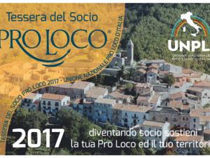 Campagna Tesseramento ProLoco 2017 – Sono aperte le iscrizioni