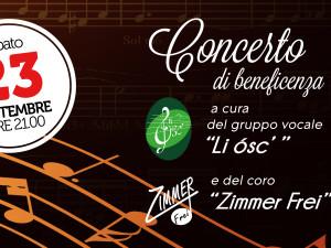 23 settembre 2017 – Concerto di Beneficenza – Piatta
