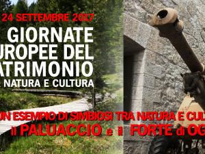 #GEP 2017 – Giornate Europee del Patrimonio al Forte di Oga | 23 – 24 settembre 2017