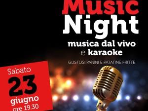 Music Night – Piatta 23 giugno 2018