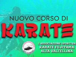Nuovo Corso di Karate – dal 1 ottobre al 30 maggio 2019