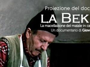 Proiezione del documentario La Bekerìa di Giovanni Peretti – 18 febbraio 2017