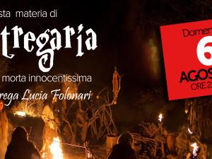 """6 agosto – Conferenza """"In questa materia di STREGARIA ella fu morta innocentissima""""… Auditorium Scuole Cepina"""