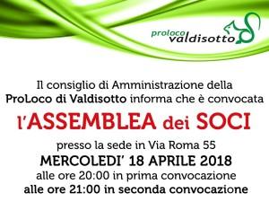 Assemblea dei Soci 2018 – 18 aprile 2018